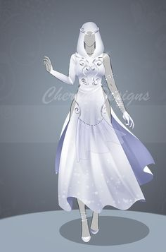 (closed) Auction Adopt - Outfit 488 by CherrysDesigns on DeviantArt - (closed) Auction Adopt – Outfit 488 by CherrysDesigns - Clothing Sketches, Dress Sketches, Dress Drawing, Drawing Clothes, Fashion Design Drawings, Fashion Sketches, Anime Outfits, Cool Outfits, Anime Dress