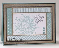 Stamps: Blooming with Kindness Paper: Soft Sky dsp, Whisper White card stock, Basic Gray. Sahara Sand Paper Size: A2 Ink: Soft Sky, Sahar...