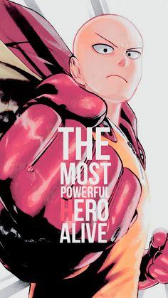 Imagem de one punch man, anime, and saitama