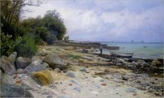 Monsted_Peder_Looking_out_to_Sea_1919_ AUTOR:    PEDER MORK MONSTED