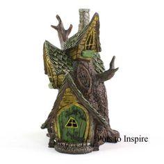 Mini Fairy House Miniature Garden Ornament | Woodside Garden Centre | Pots to Inspire