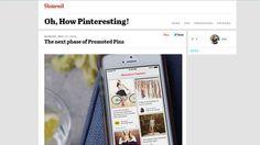 Pinterest startet mit den ersten Werbungtreibenden