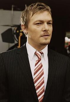 Norman Reedus. All dressed up, and lookin good. my oh my oh my....sigh....LOL