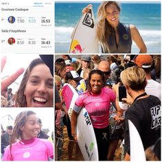 Keep smiling SUPA GAL! So close to ringing that bell. Very proud of you @sally_fitz as a person and a role model world class athlete! Good luck at Margaret River and am sure you'll keep smiling! Congrats to @courtneyconlogue #bellsbeach #surfing #surfing #greatoceanroad #iloveyouall #sallyfitzgibbons #style #class #rolemodel #supagal #LOYALTY by danthecarltonian http://ift.tt/1KnoFsa