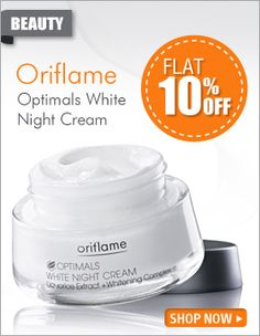 Get 10% off..!! Amazing deals on beauty care products with Falcon18, Oriflame Optimals Matte Touch Night Gel Cream contains mattle touch formula with equalizing complex which helps to neutralize the imperfections on your skin. It is great for dry areas which are left moisturized and smooth.