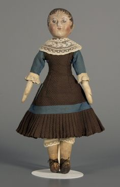 79.9926: doll | Dolls from the Nineteenth Century | Dolls | National Museum of Play Online Collections | The Strong