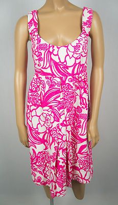 ANTHROPOLOGIE New Dress 8 Vanessa Virginia White Pink Rose Floral Gown $178