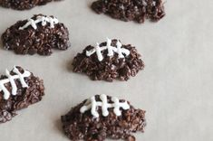 Recipe of the Day: Chocolate Football Cereal Cookies