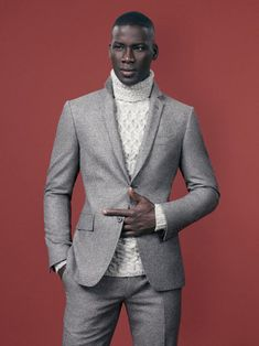 David Agbodji in Barney's F/W 2012 Catalogue photographed by Ben Weller