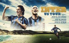 Inter / Barca US tour on Behance