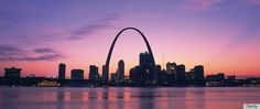Louis Arch early in the morning © Gyro Photography/AmanaImages/Getty Images Saint Louis Arch, St Louis Mo, Saint Luis, Stl Arch, Oh The Places You'll Go, Places To Visit, Gateway Arch, Sunset Silhouette, Vacation Spots