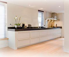 31 beste afbeeldingen van rechte keukens home kitchens interior