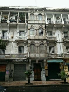 Casablanca Morocco, Today Pictures, Colonial Architecture, North Africa, Multi Story Building, Mansions, Deco, House Styles, Houses