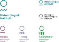 Reviewed: New Logo and Identity for Meteorologisk Institutt by Neue
