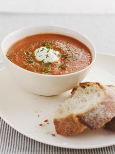 Sugarchallenge proof: Paprika/ tomaatsoep met sperziebonen