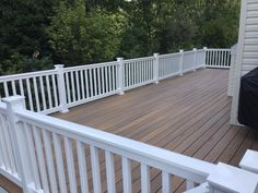 Timber tech tigerwood composite decking with hidden fasteners