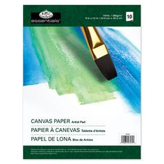 Shop for Essentials Canvas Artist Paper Pad Sheets - 6 sheets. Get free delivery On EVERYTHING* Overstock - Your Online Scrapbooking Shop! Canvas Paper, Acrylic Painting Canvas, Fabric Painting, Mini Canvas, Paper Artist, Artist Painting, Watercolor Postcard, Watercolor Paint Set, Paint Tubes
