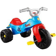 The Fisher Price Kids Thomas The Tank Engine Tough Trike Pedal and Push Toddler Tricycle for Boys with Wide Wheelbase is the perfect starter tricycle for any kid who loves Thomas the Train. Featuring ...