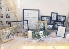 Happy Weding, Photo Album Display, Wedding Welcome Board, Wedding Styles, Wedding Photos, Wedding Reception, Wedding Day, Welcome Table, Wedding Cards