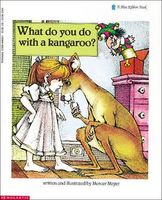 """""""If a bossy kangaroo jumped through your window and started telling you what to do and refused to go away and had all kinds of other animals joining him...what would you do? Would you tell that kangaroo a thing or two?"""""""