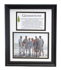 Generations Family Picture Frame - The Grandparent Gift Co. Family Picture Frames, Family Pictures, Fun Crafts For Kids, Baby Crafts, I Love Mom, Grandparent Gifts, Beautiful Children, Cleaning Hacks, Room Decor