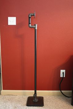 Industrial Pipe Surround Sound Speaker Stand Pair by AlpineWoodCo                                                                                                                                                                                 More