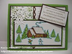 DRS Designs Rubber Stamps: Old Fashioned Christmas