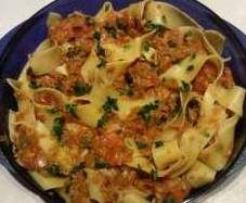 WW Bandnudeln mit Tunfisch-Tomatensauce by sieane on www.rezeptwelt.de