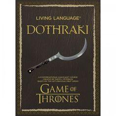 Living Language Dothraki: A Conversational Language Course Based on the Hit Original HBO Series Game of Thrones (Audiobook)