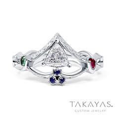 Women/'s Legend of Zelda Sapphire Link Breath Of Wild Silver Engagement Ring L