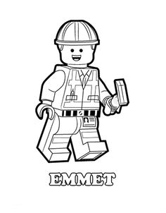 lego coloring book pages