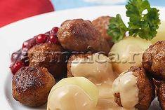 Домашние фрикадельки со сливочным соусом – пошаговый рецепт с фото