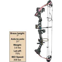 Diamond Archery Razor Edge Package – Pink Blaze, Compound Bows, Bows, Archery, Hunting : Cabela's ---one day!