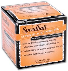 Speedball Super India Ink