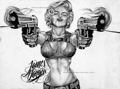 Gangster Marilyn menro
