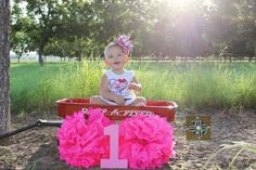 #12montholdpictures #redwagon