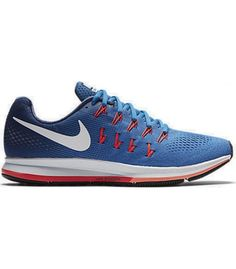 NIKE AIR ZOOM PEGASUS 33 BLUE Nike RunningRunning ShoesPegasusNike