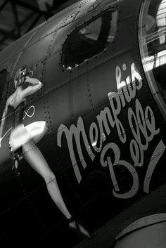 Memphis Belle Nose Art