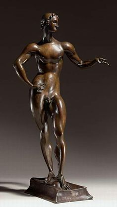 Elie Nadelman, (Polish American artist, sculptor, 1882-1946)