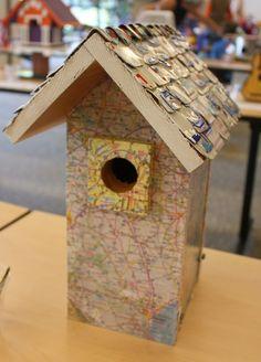 Map birdhouse