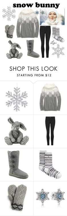 """Snow Please"" by coolmommy44 ❤ liked on Polyvore featuring Tommy Hilfiger, Royal Selangor, Indigo Collection, UGG Australia, Target, Pandora, snow and snowbunny"