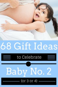 Not sure what to get the mama-to-be-again? Second babies deserve to be celebrated. Check this second baby gift guide (68 gift ideas!), including 9 tips on what you can give the expectant mom, the big brother or big sister, and the whole family. Second Baby Showers, Baby Shower Gifts, Baby Gifts, Baby Arrival, Pregnant Mom, 2nd Baby, Baby Sprinkle, Sprinkle Shower, Baby Hacks