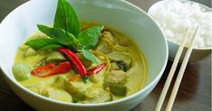 Thai Green Curry with Authentic Flavors: Delicious Vegetarian Thai Green Curry!Vegetarian-Approved Thai Green Curry with Authentic Flavors: Delicious Vegetarian Thai Green Curry! Vegetarian Thai Green Curry, Thai Green Curry Recipes, Green Curry Chicken, Thai Recipes, Savoury Recipes, Vegetarian Food, Chicken Recipes, Vegan Recipes, Curry Vert Thai