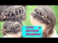 How to : DIY Knotted Headband | Knotted Braid Hair Tutorial - YouTube