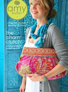 5 pages of Clutch Patterns to sew