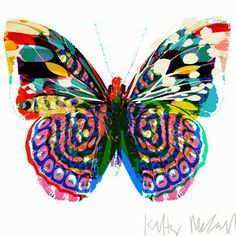 Also have this one and again love the unusual colour combination print & pattern: NEW PRODUCTS - starling store Butterfly Illustration, Pattern Illustration, Butterfly Painting, Butterfly Art, Arte Floral, Beautiful Butterflies, Lovers Art, Painting & Drawing, Watercolor Painting
