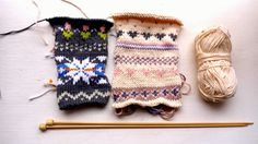 Porcupine Design: fair isle & nordic knits (from Nikki Trench)