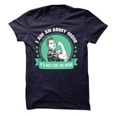 I am an Army Mom Its Not For The Weak T-Shirts, Hoodies. CHECK PRICE ==► https://www.sunfrog.com/LifeStyle/I-am-an-Army-Mom-Its-Not-For-The-Weak.html?id=41382