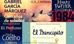 Los 100 libros más vendidos de la historia - http://www.actualidadliteratura.com/los-100-libros-mas-vendidos-la-historia/