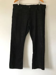 dc4e33a11a M&S Black Mens Cord Trousers Size 38 V83X #fashion #clothing #shoes  #accessories